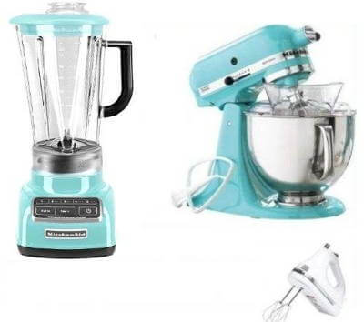 KitchenAid Artisan Stand Mixer and Blender Package